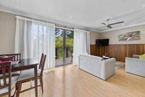 Superior Villa Lounge Area